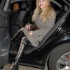 Courtney Love Makes A Grand Entrance