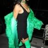 Rihanna's Green Boots Are Talking!