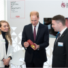 Prince William Tries Out Shoe Designing