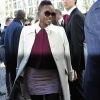Lupita Nyong'o In Paris Fashion Week For Miumiu