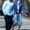Kelly Rowland Strolls Through The Park In Heels