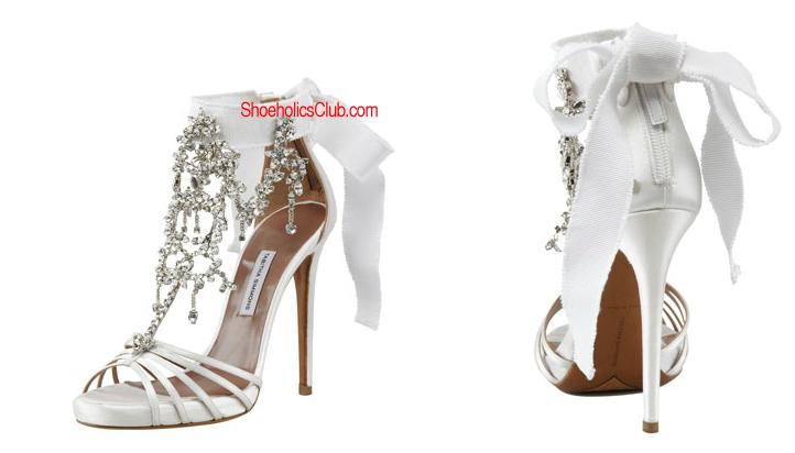 Tabitha Simmons Bridal Chandelier Design   Shoeholics Club