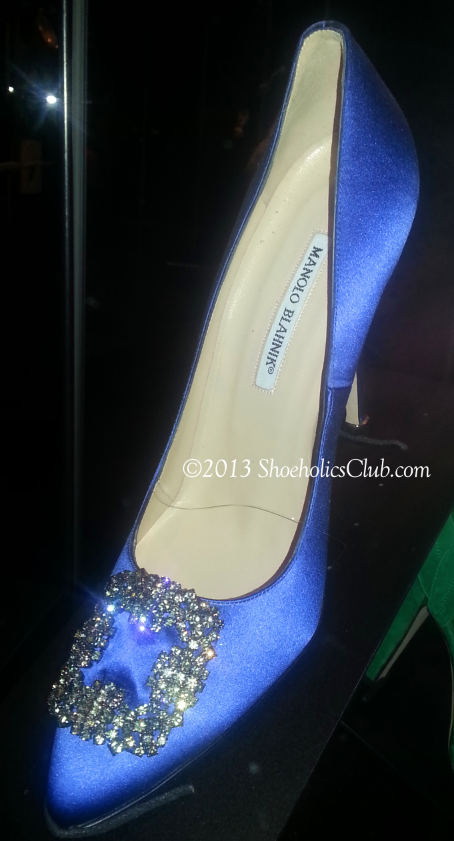 The Sex & The City shoe by Manolo Blahnik