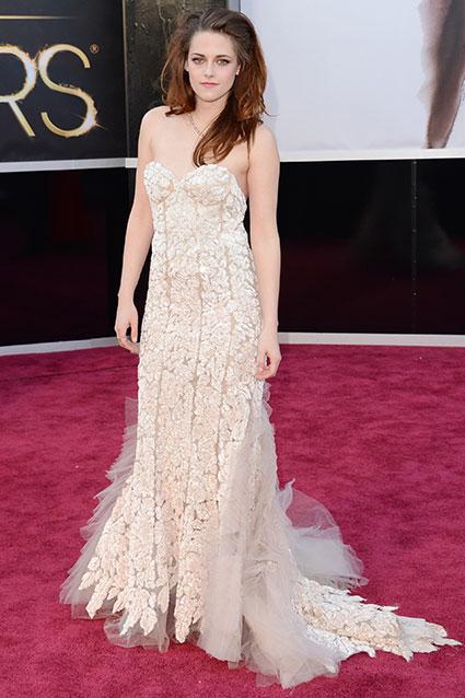 Kristen Stewart in Reem Acra.