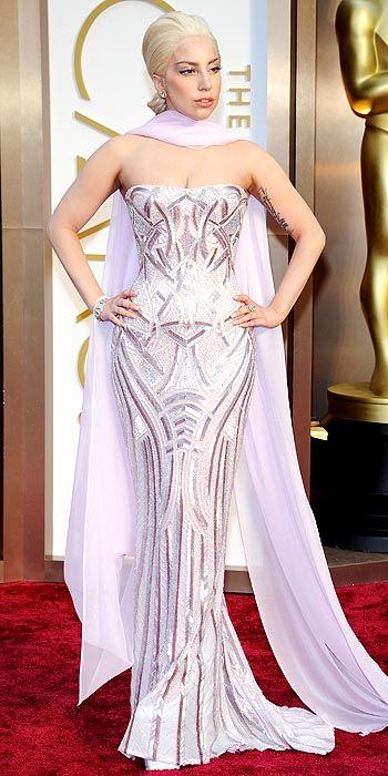 Lady Gaga In Platforms At The Oscars | Shoeholics Club