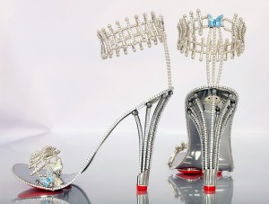 "Beyonce has reportedly snapped up this pair of #200,000 GBP pounds [$312,000 USD approx] shoes from a British jeweller.  The star is said to have bought the diamond-encrusted heels from Birmingham-based The House of Borgezie.  She is expected to wear the Princess Constellation stilettos, which feature 1,290 precious stones in her next video as well as this #55,000 GBP pounds [$85,000 USD] gold basque belt. Chris Shellis, owner of House Of Borgezie, told a UK newspaper: ""Beyoncé's one of those fantasy customers.  ""If you want someone to model your creations, you can't get any better than her."" *Mandatory credit Splash/The House of Borgezie*   Pictured: Shoes Ref: SPL1092973  030815   Picture by: Splash/The House of Borgezie  Splash News and Pictures Los Angeles: 310-821-2666 New York: 212-619-2666 London: 870-934-2666 photodesk@splashnews.com"