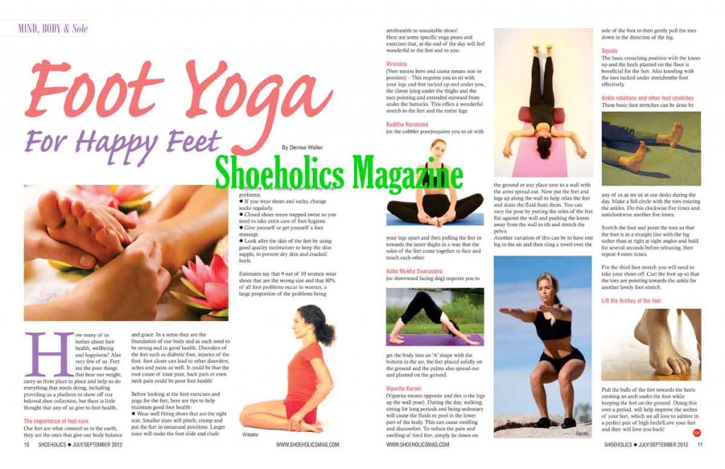 An Exclusive By Denise Waller First Published In The Jul Sep 2012 Edition Of Shoeholics Magazine All Rights Reserved