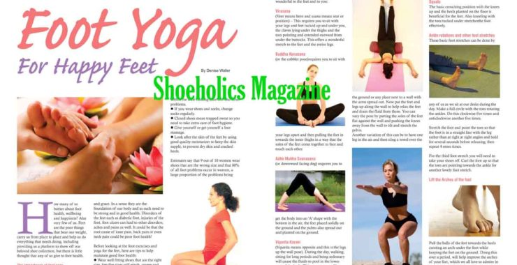 Heels Hurting You? Try Foot Yoga!
